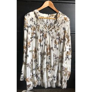 free people butterfly tunic